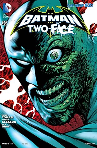Batman and Robin (2011-2015) #26: Two-Face