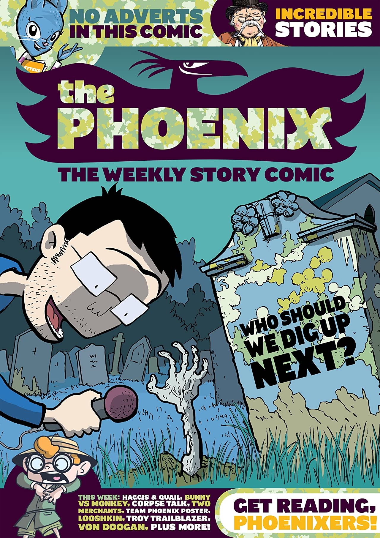 The Phoenix #115: The Weekly Story Comic