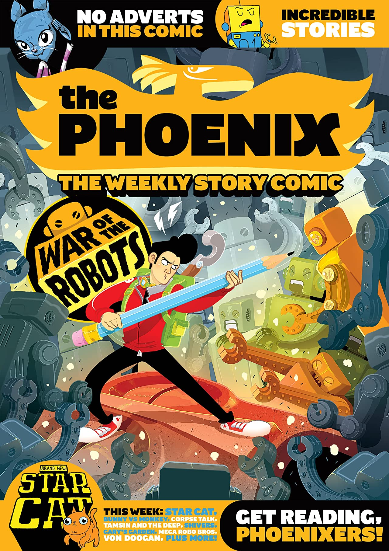 The Phoenix #119: The Weekly Story Comic
