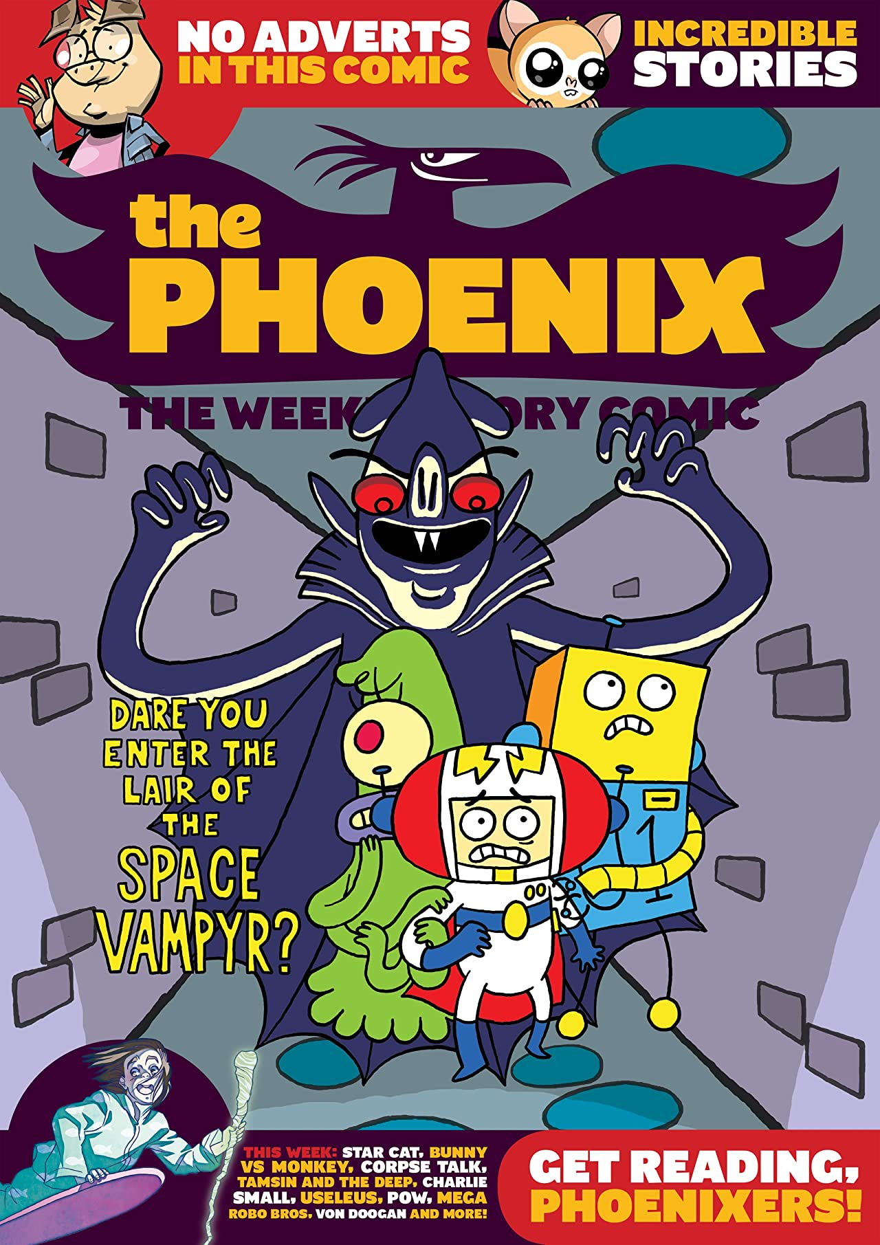 The Phoenix #120: The Weekly Story Comic