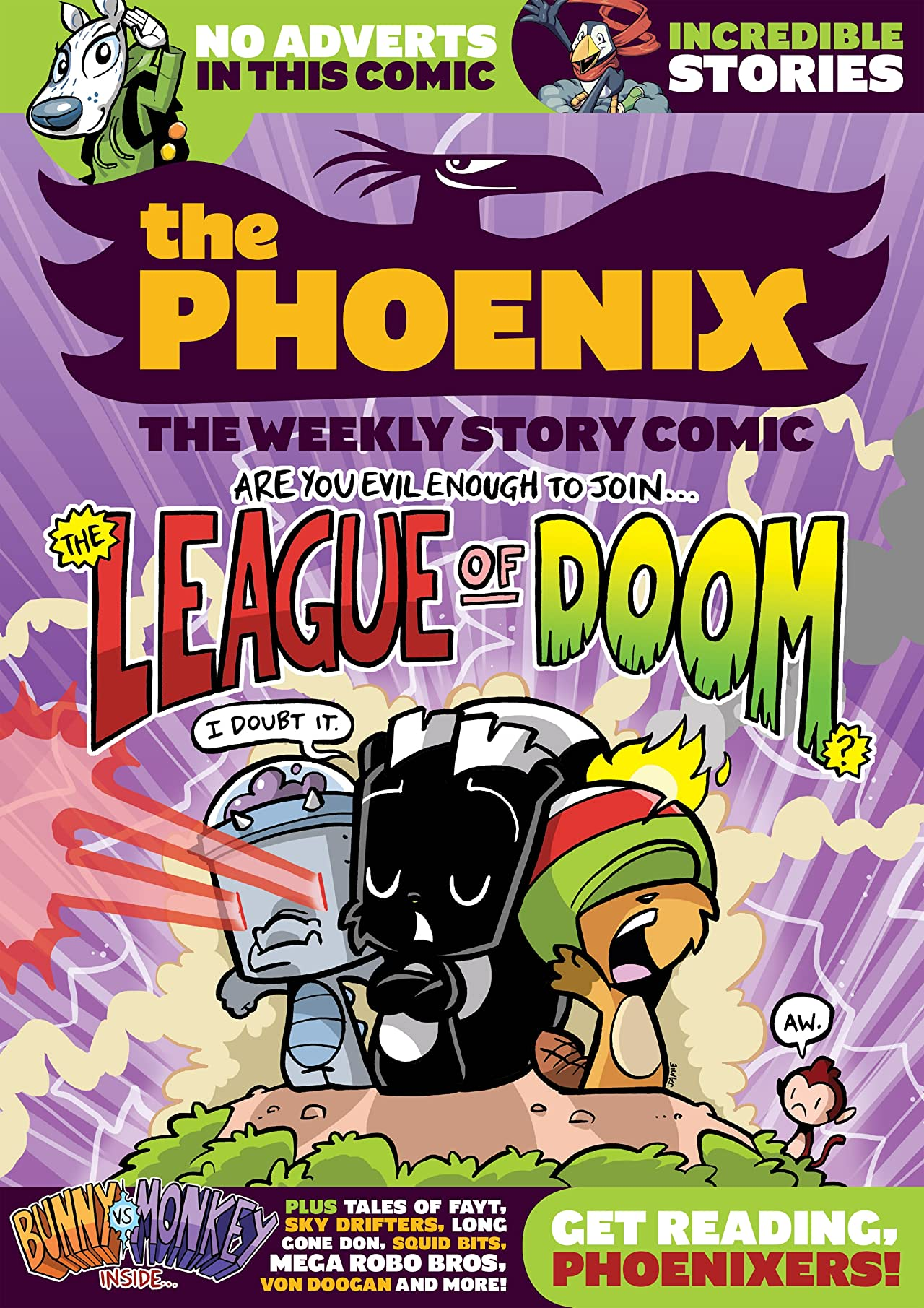 The Phoenix #126: The Weekly Story Comic