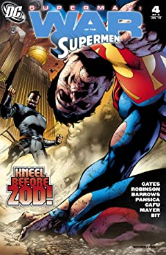 Superman: War of the Supermen #4 (of 4)