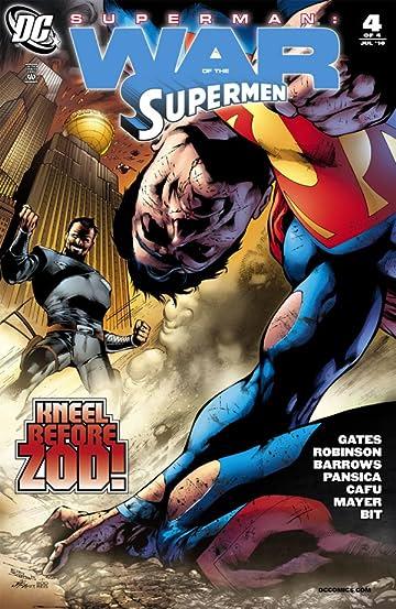 Superman: War of the Supermen #4