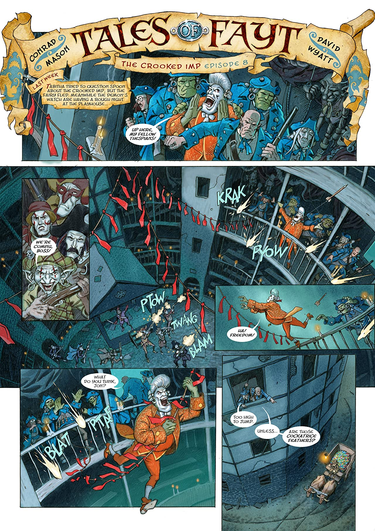 The Phoenix #132: The Weekly Story Comic