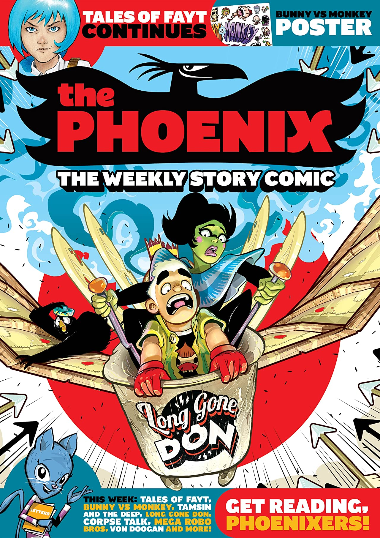 The Phoenix #134: The Weekly Story Comic