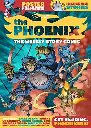 The Phoenix #136: The Weekly Story Comic