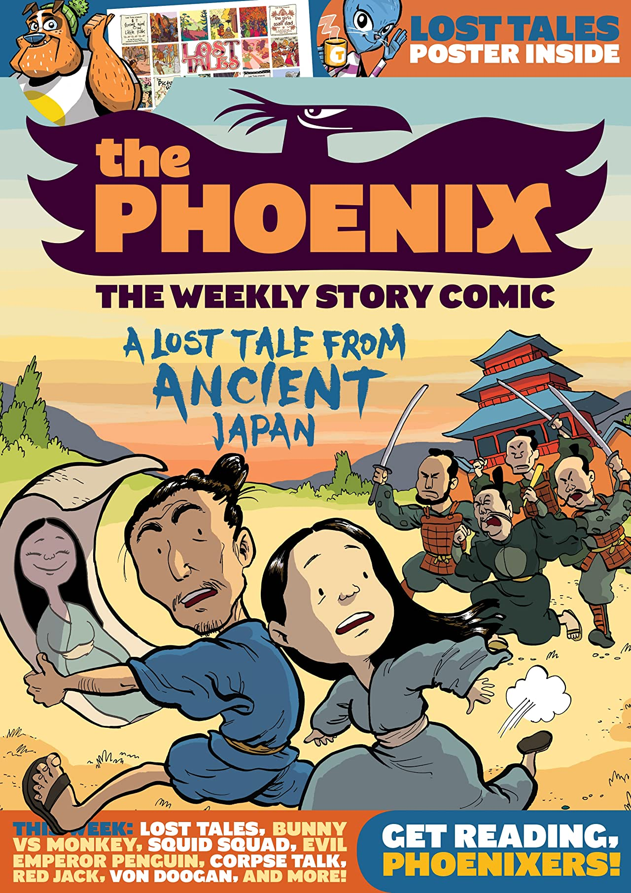 The Phoenix #141: The Weekly Story Comic