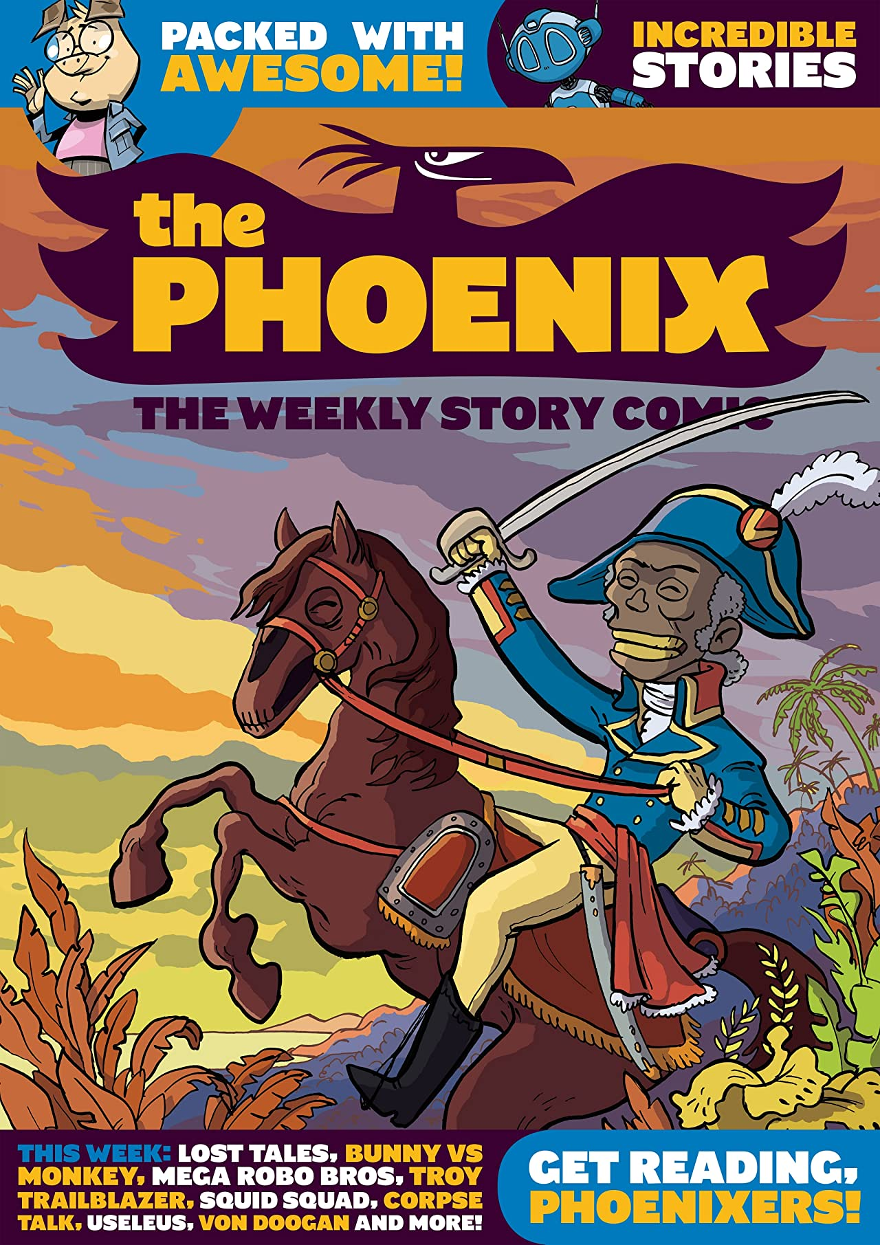 The Phoenix #151: The Weekly Story Comic