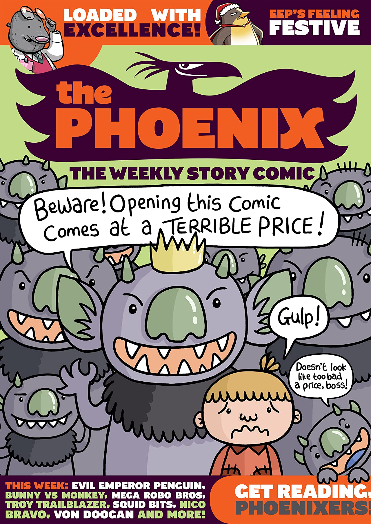 The Phoenix #154: The Weekly Story Comic