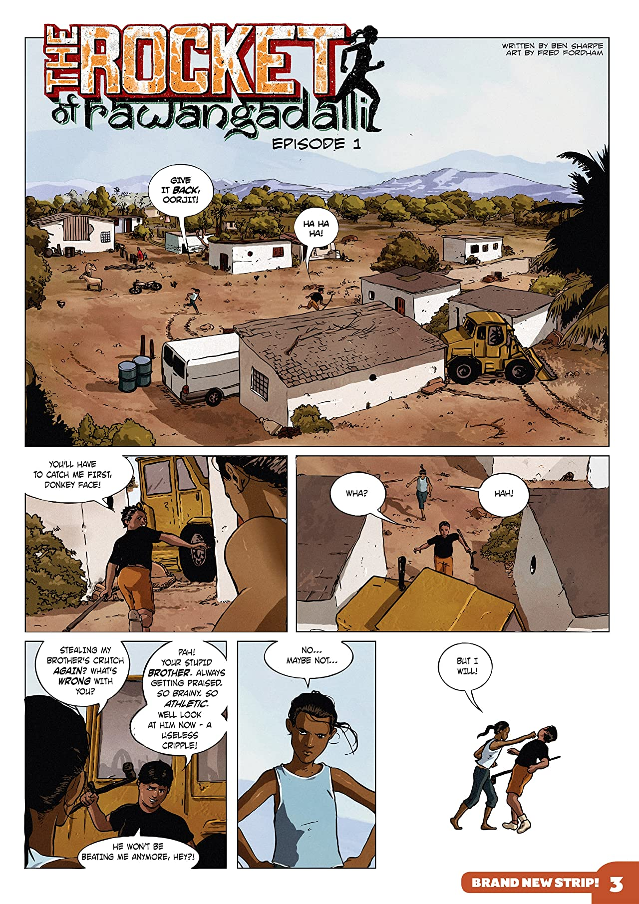 The Phoenix #158: The Weekly Story Comic