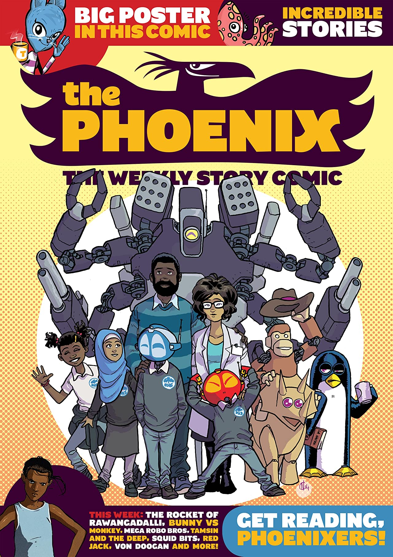 The Phoenix #159: The Weekly Story Comic