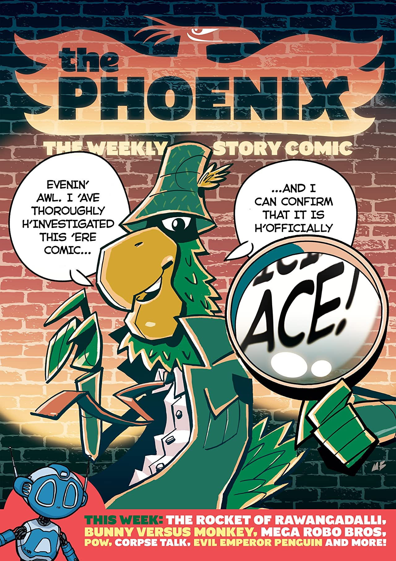The Phoenix #164: The Weekly Story Comic