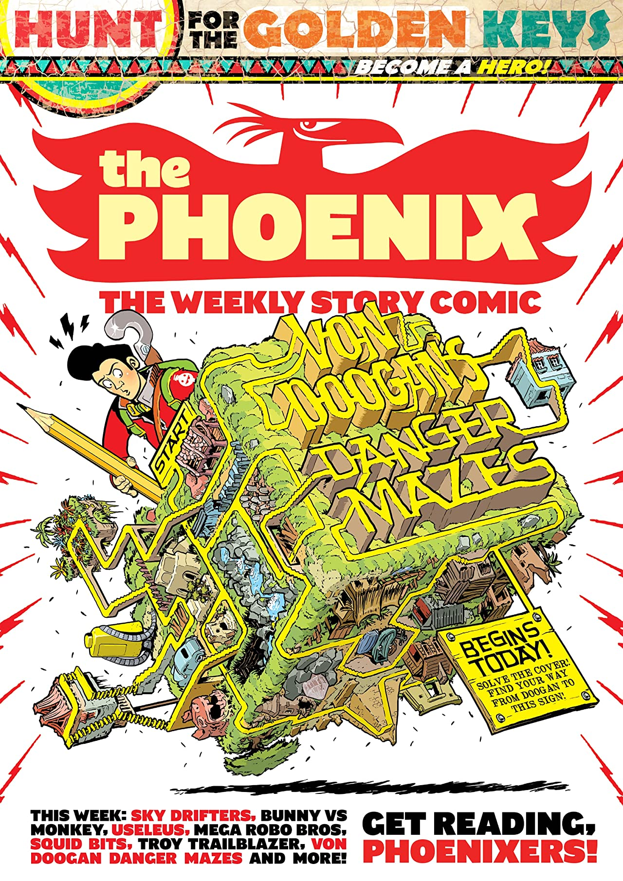 The Phoenix #194: The Weekly Story Comic