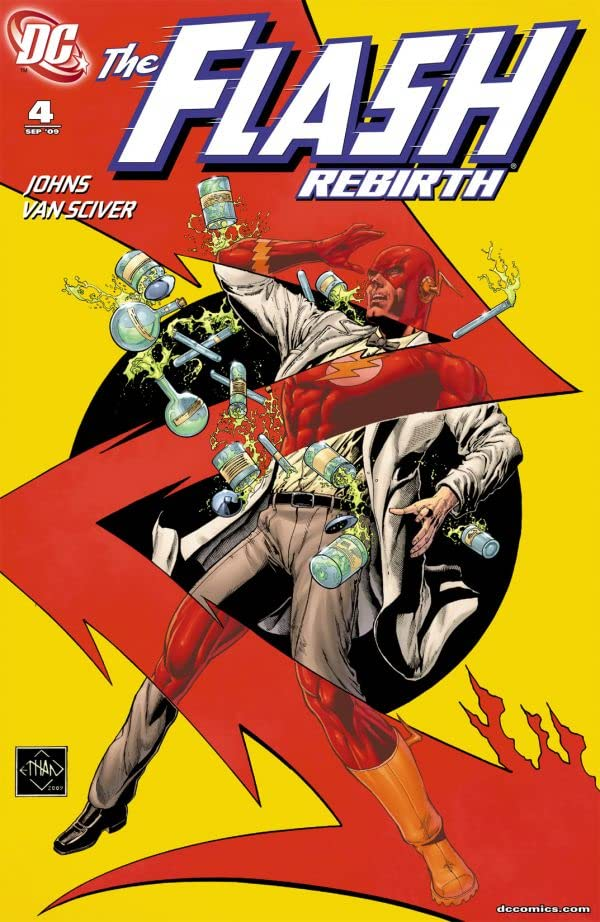 The Flash: Rebirth (2009-2010) #4 (of 6)
