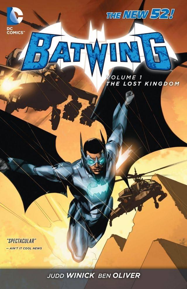 Batwing (2011-2014) Vol. 1: The Lost Kingdom