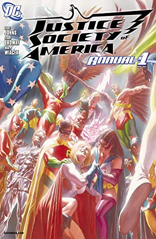 Justice Society of America (2007-2011): Annual No.1