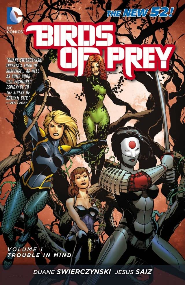 Birds of Prey (2011-2014) Vol. 1: Trouble in Mind