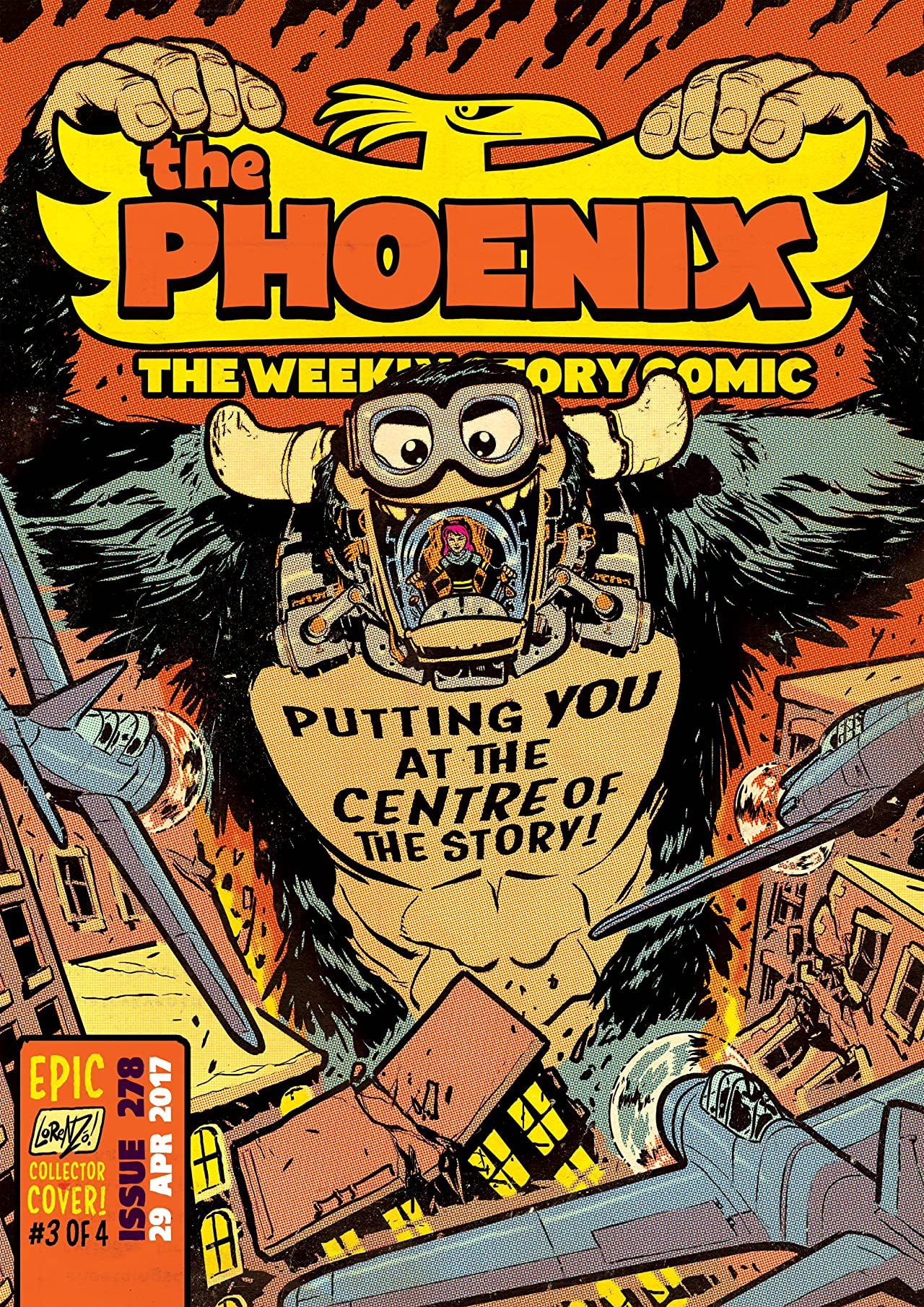 The Phoenix #278: The Weekly Story Comic