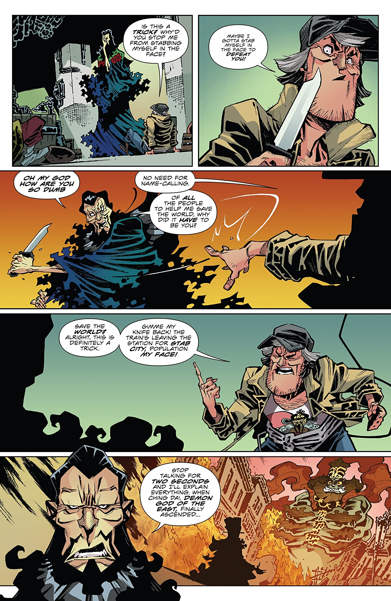 Big Trouble in Little China: Old Man Jack #2