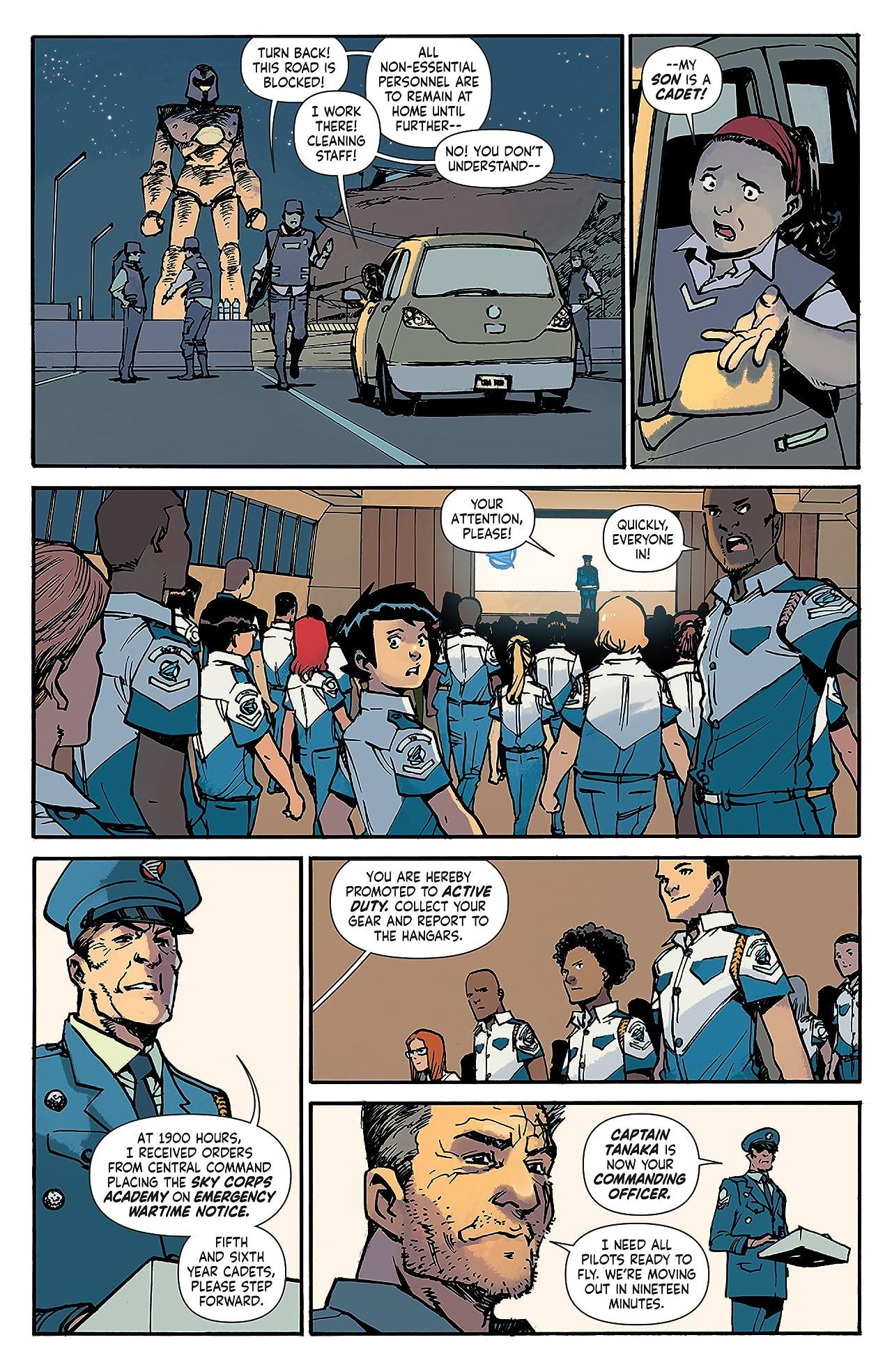 Mech Cadet Yu #3