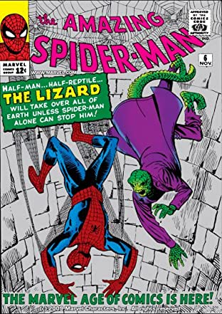 Amazing Spider-Man (1963-1998) No.6