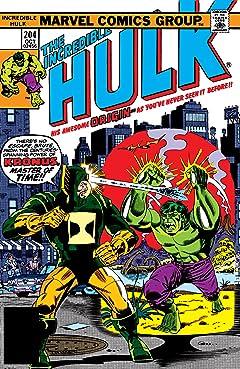 Incredible Hulk (1962-1999) #204