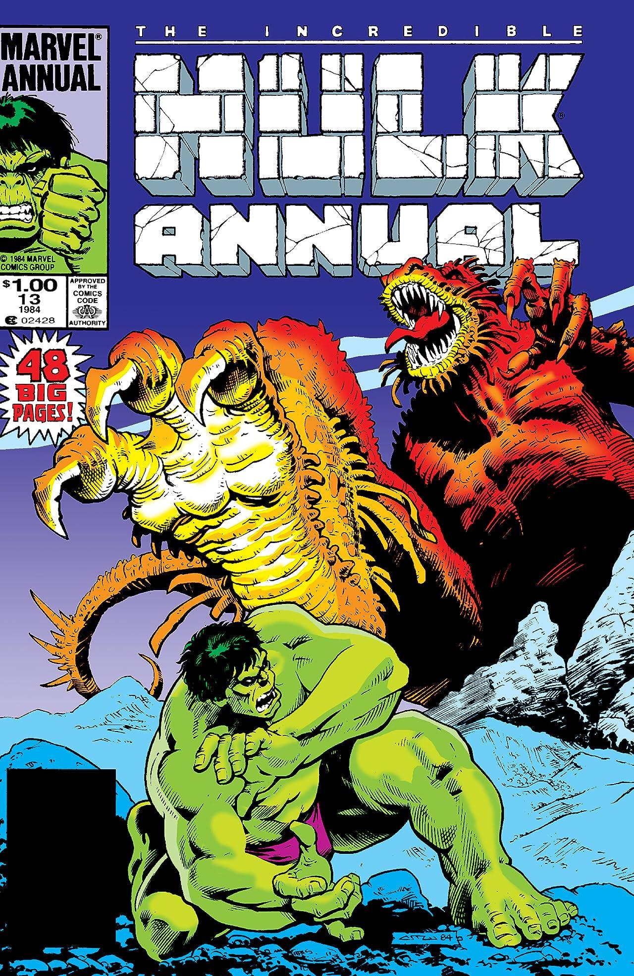 Incredible Hulk (1962-1999) Annual #13