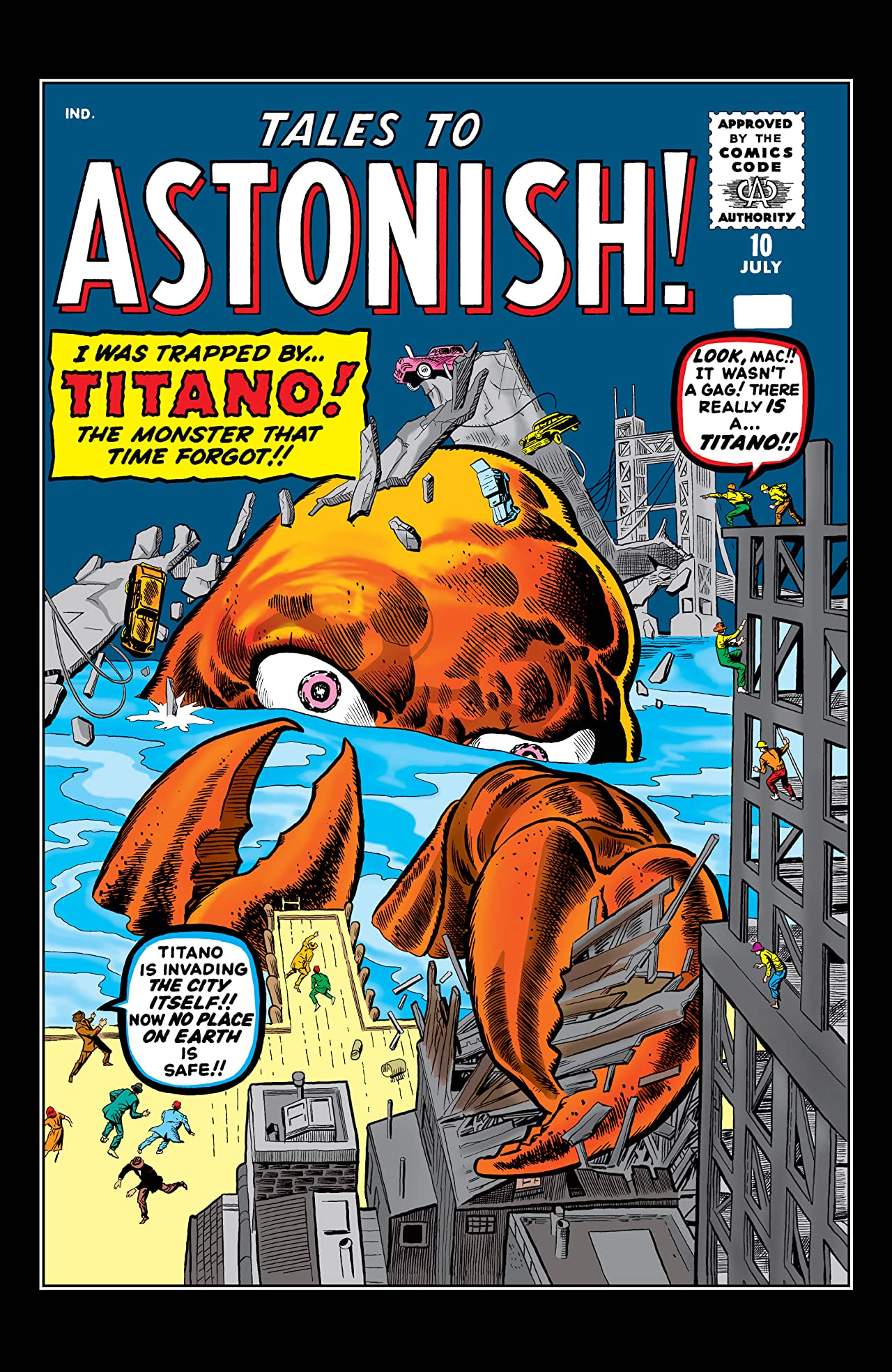 Tales to Astonish (1959-1968) #10