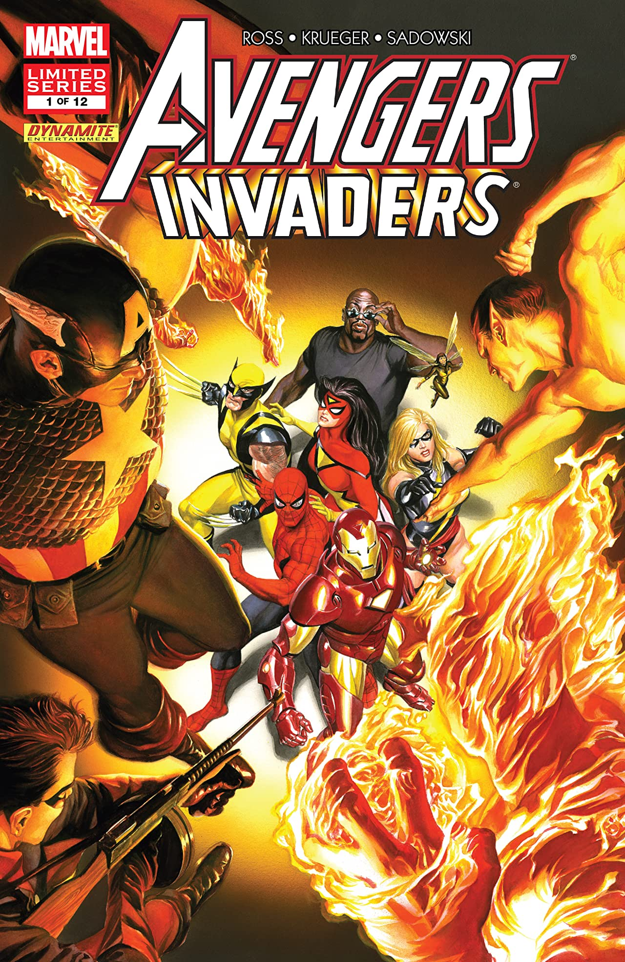 Avengers/Invaders (2008-2009) #1 (of 12)