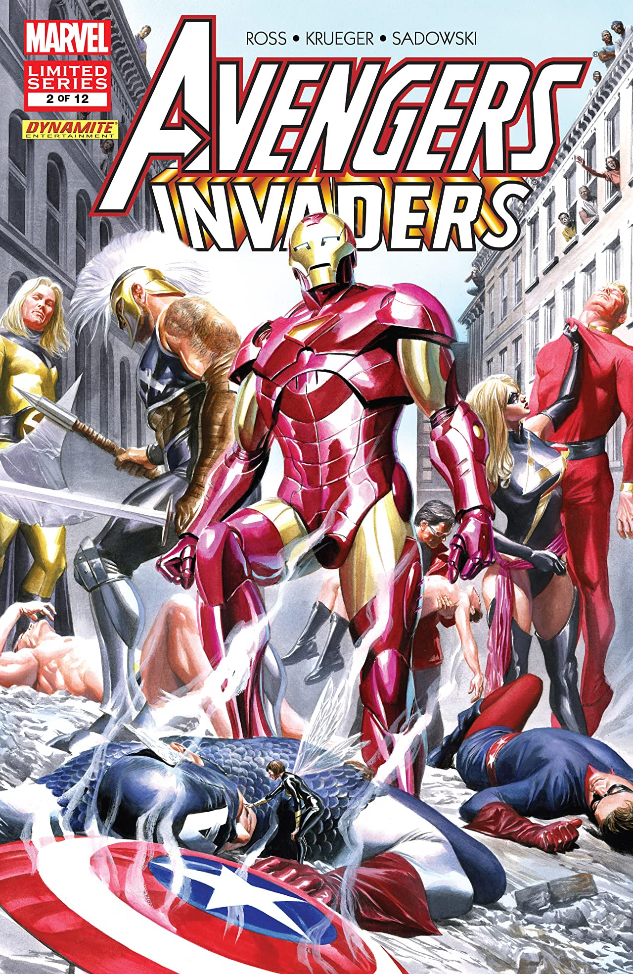 Avengers/Invaders (2008-2009) #2 (of 12)
