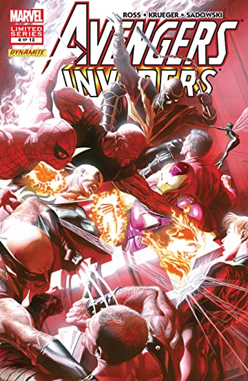 Avengers/Invaders (2008-2009) #4 (of 12)
