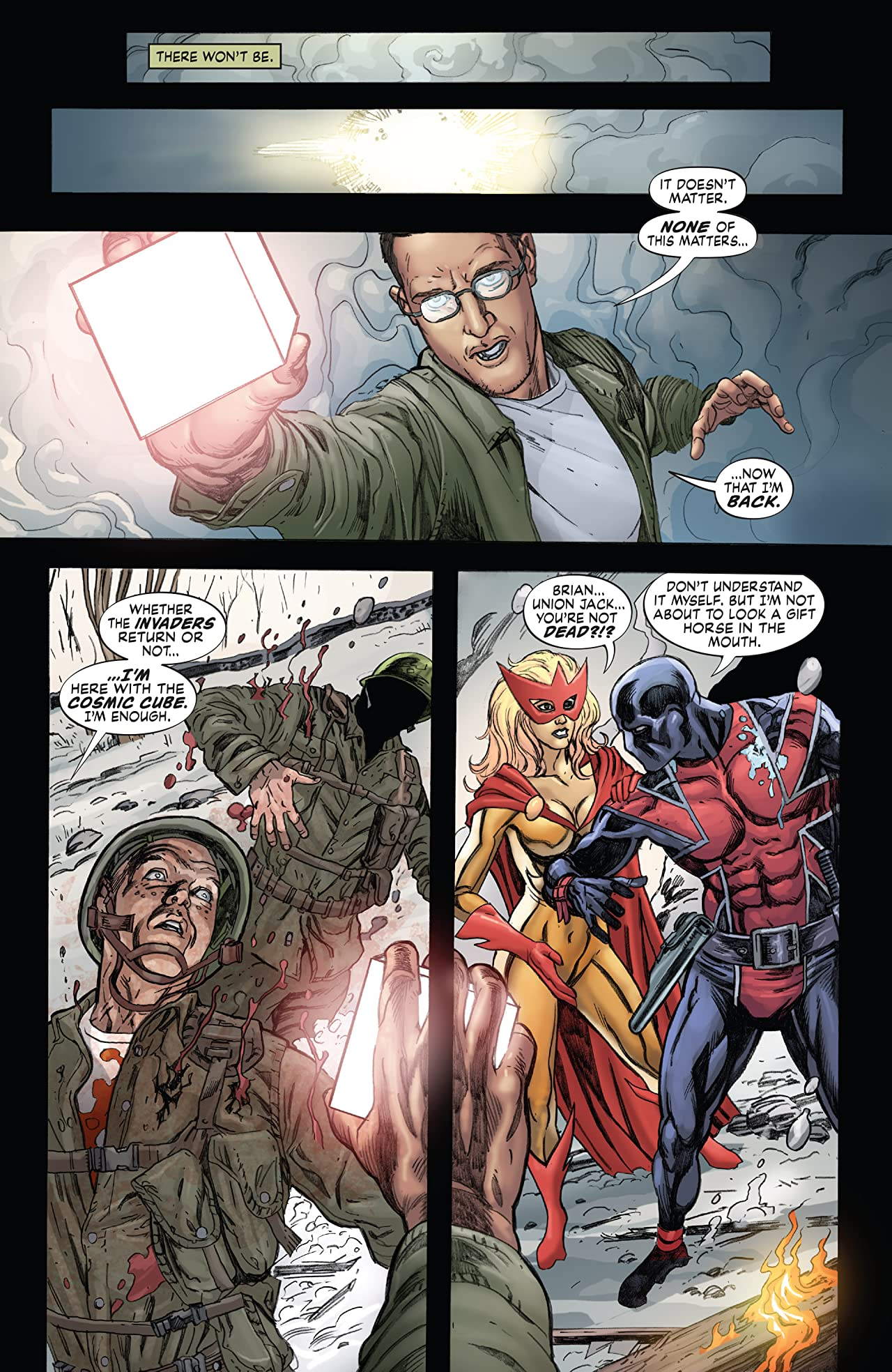 Avengers/Invaders (2008-2009) No.9 (sur 12)
