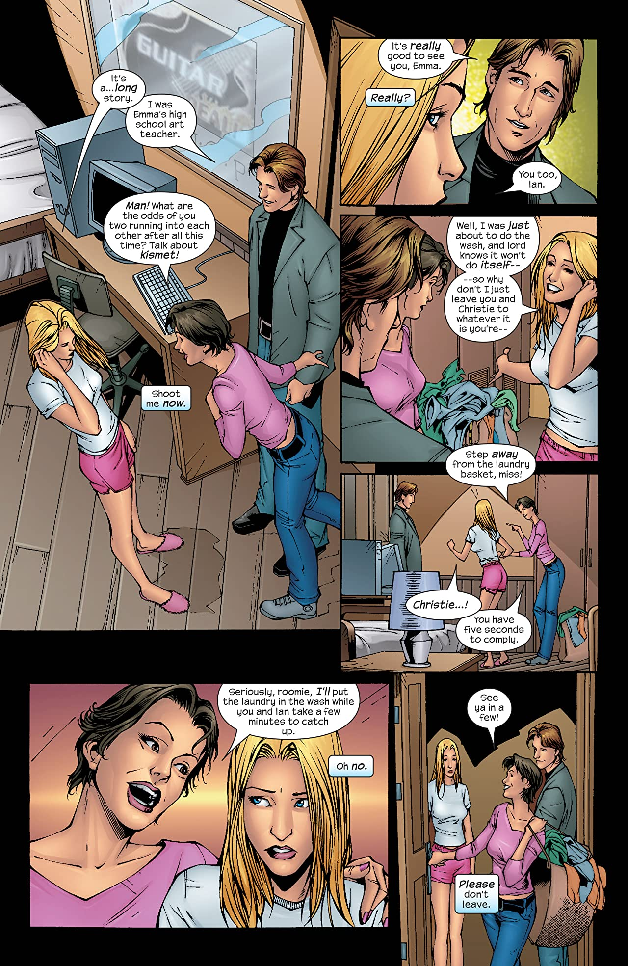 Emma Frost (2003-2004) #14