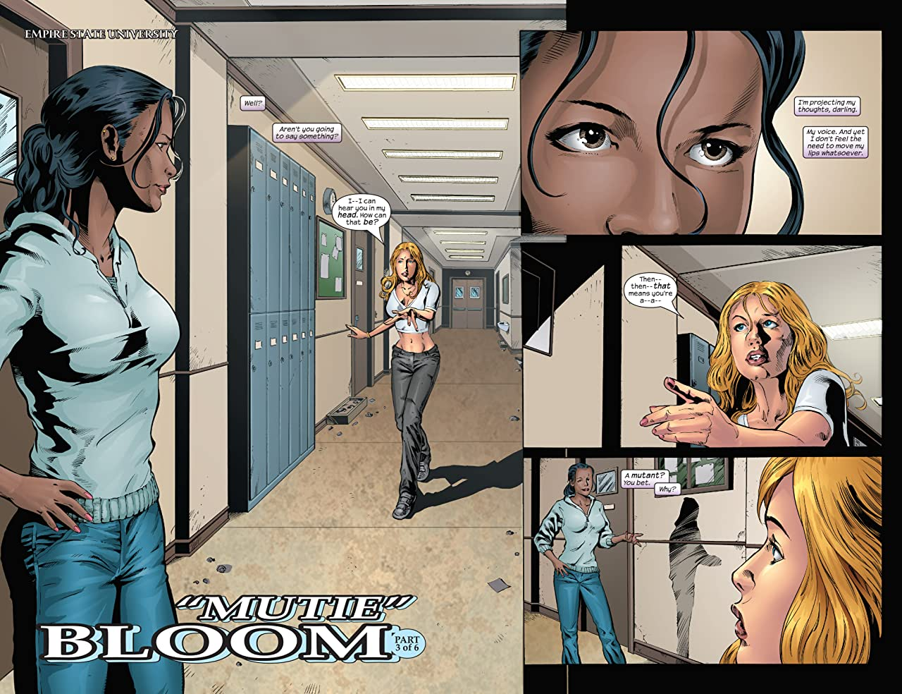 Emma Frost (2003-2004) #15