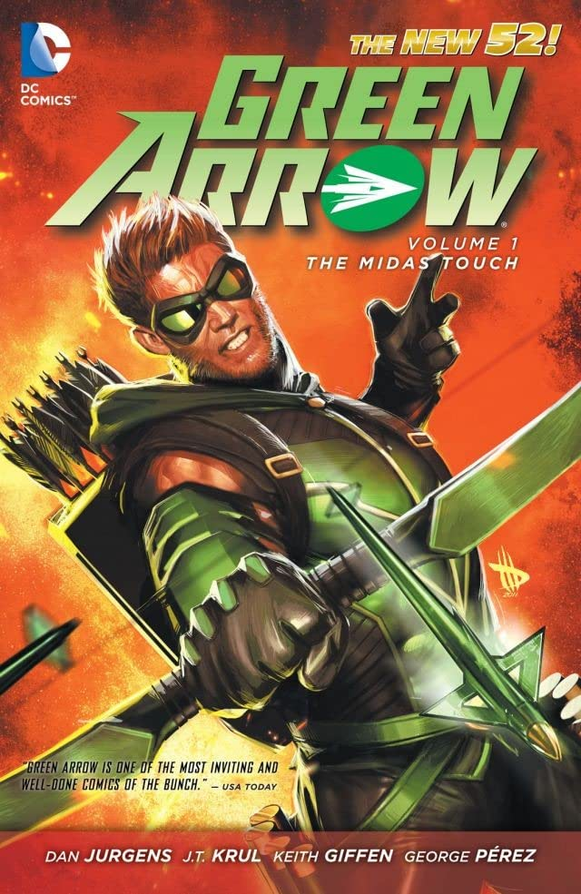 Green Arrow (2011-) Vol. 1: The Midas Touch