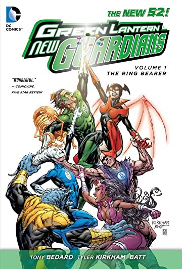 Green Lantern: New Guardians (2011-2015) Vol. 1: The Ring Bearer