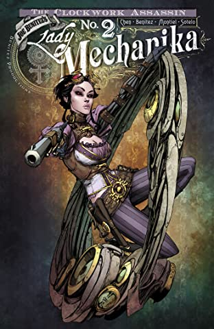 Lady Mechanika: The Clockwork Assassin No.2