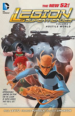 Legion of Super-Heroes (2011-2013) Tome 1: Hostile World