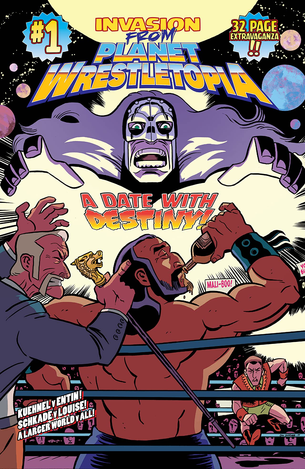Image result for invasion from planet wrestletopia #1