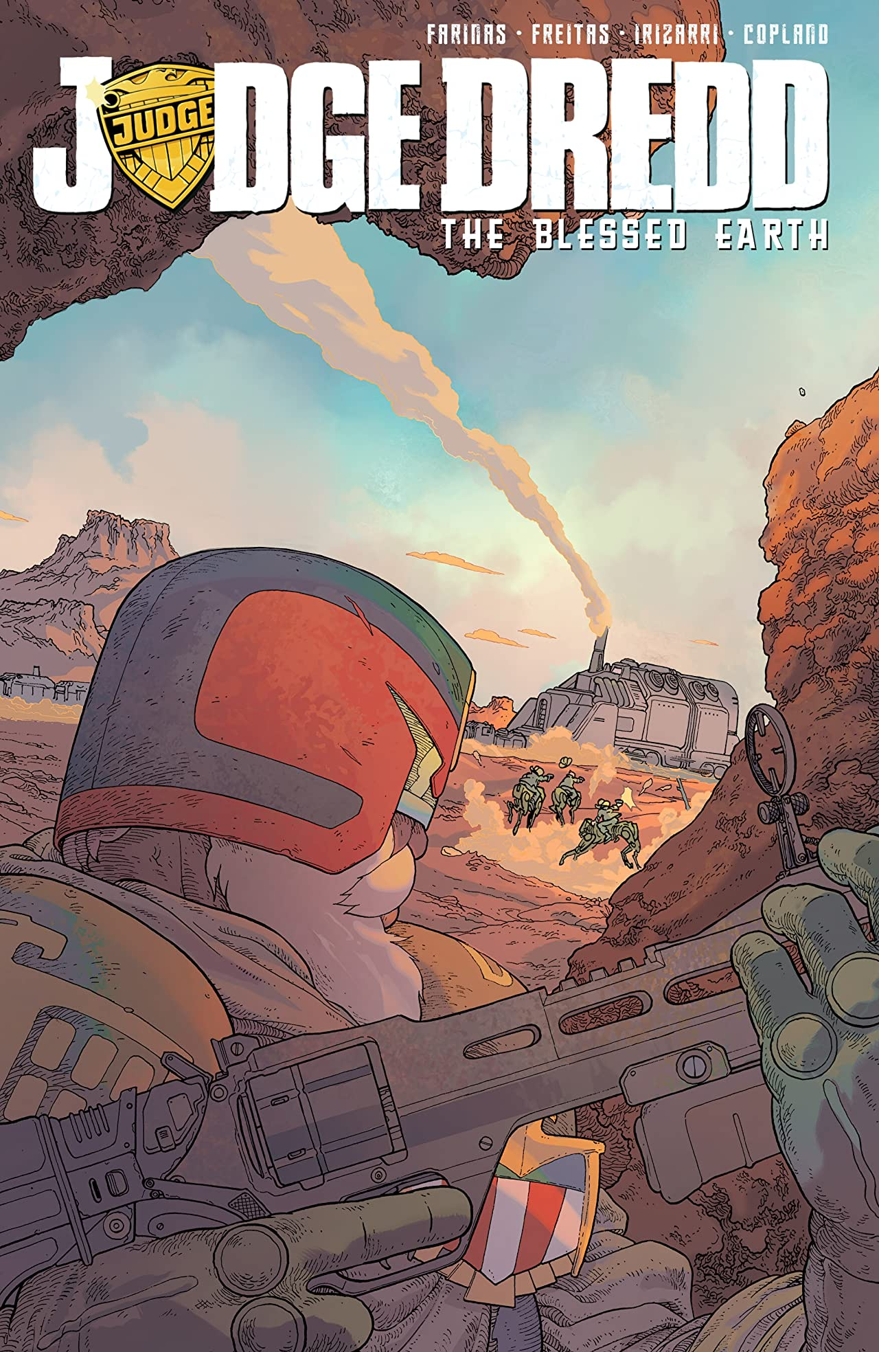 Judge Dredd: The Blessed Earth Tome 1