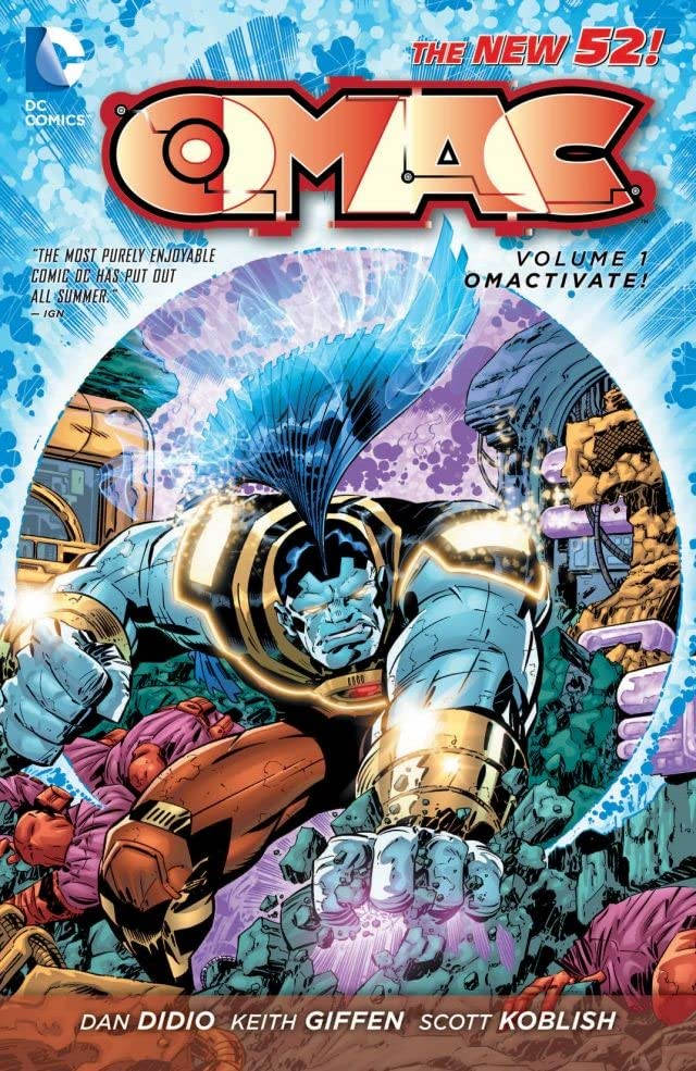 OMAC (2011-2012) Tome 1: Omactivate!