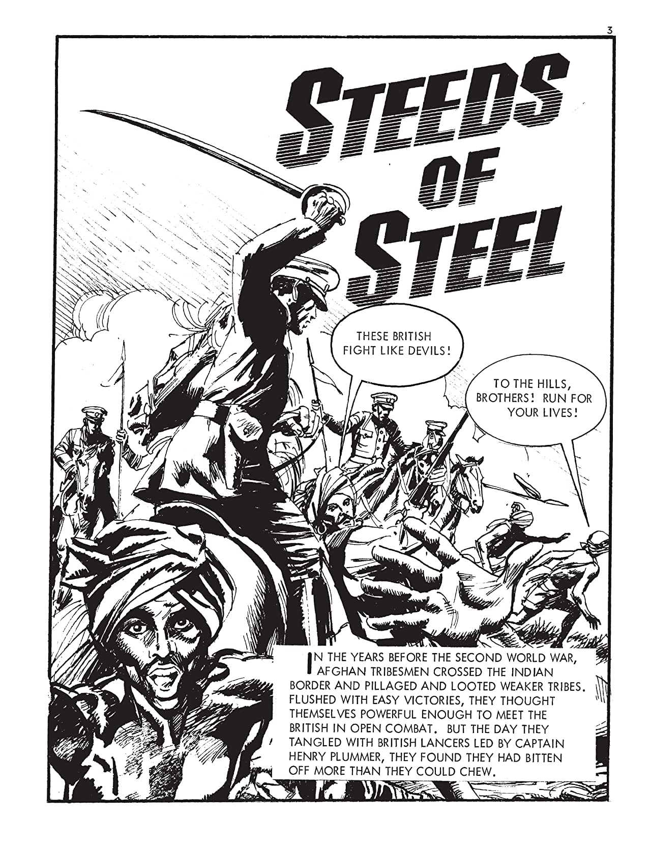 Commando #5052: Steeds Of Steel