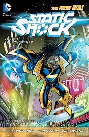Static Shock (2011-2012) Tome 1: Supercharged