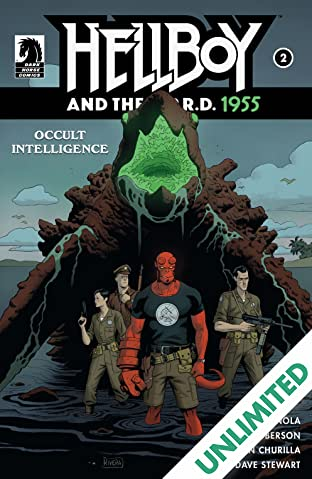 Hellboy and the B.P.R.D.: 1955--Occult Intelligence #2