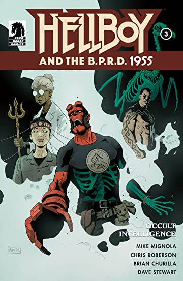 Hellboy and the B.P.R.D.: 1955--Occult Intelligence #3