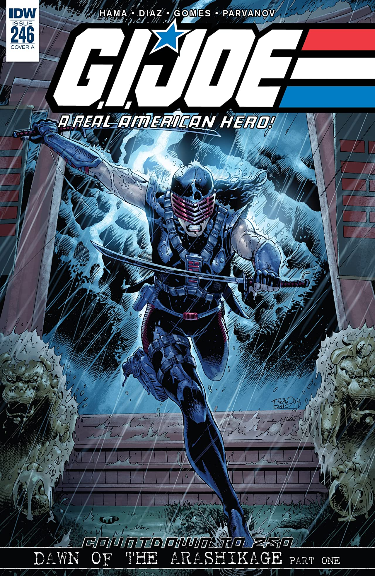 G.I. Joe: A Real American Hero #246