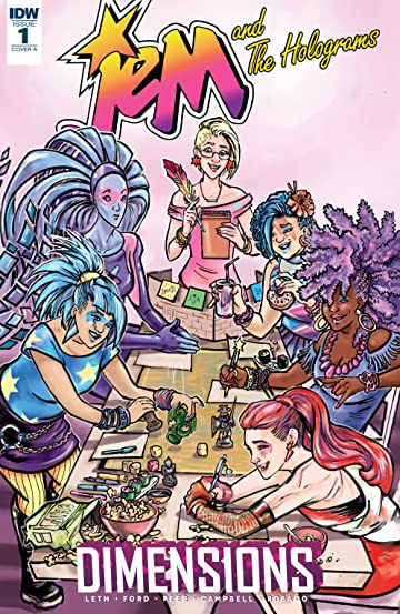 Jem and the Holograms: Dimensions No.1