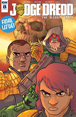 Judge Dredd: The Blessed Earth No.8