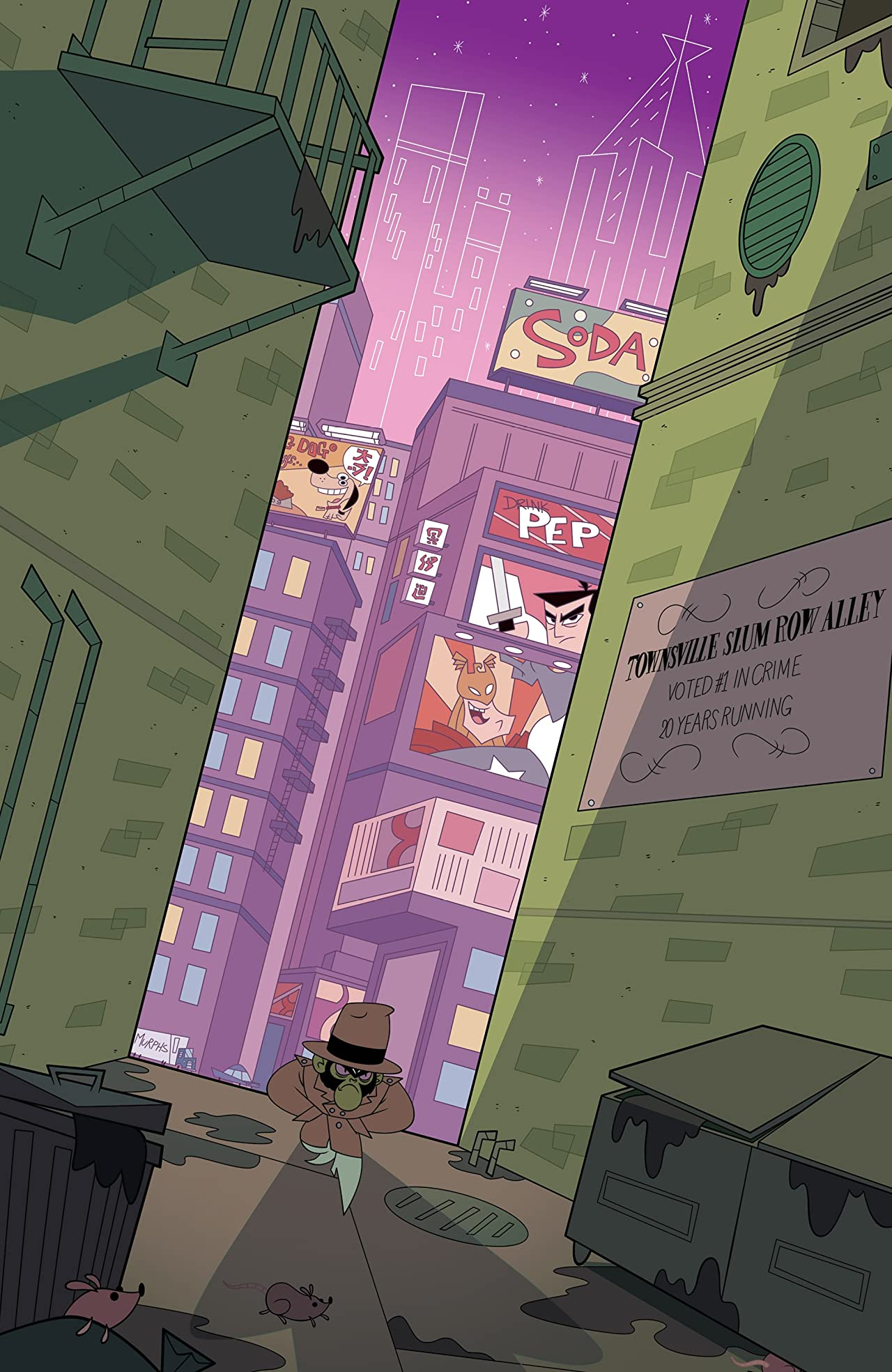 Powerpuff Girls: The Bureau of Bad #1