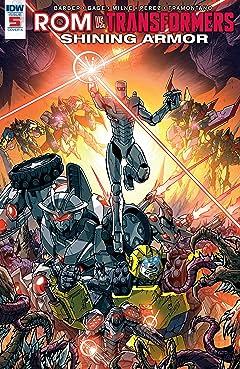 Rom vs. Transformers: Shining Armor #5